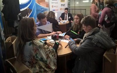 Los alumnos de Gestión Administrativa participan en la 13ª Feria Internacional de Empresas Simuladas en Barcelona