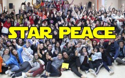 Amb el lema STAR PEACE es concentraren a Barcelona alumnes de Salesians Elx per a aprofundir en la cultura de la pau.