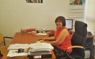 Carmen Sánchez nos cuenta sobre las admisiones.