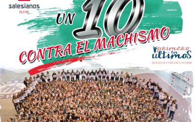 """En Salesianos Elche, """"un 10 contra el machismo"""""""