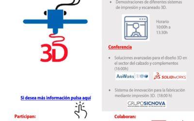 Primera Jornada de formación en Diseño 3D y fabricación Aditiva
