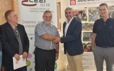 SALESIANOS ELCHE Y EL CEEI ELCHE, FIRMAN UN IMPORTANTE CONVENIO DE COLABORACIÓN