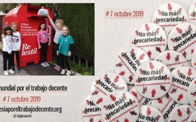 Proyecto «Re-textil» de Cáritas… Por el trabajo decente