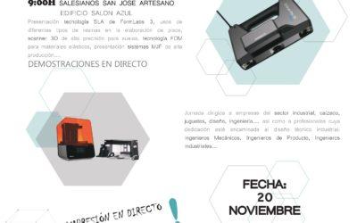 PROGRAMA JORNADA FABRICACIÓN ADITIVA 20/11/19