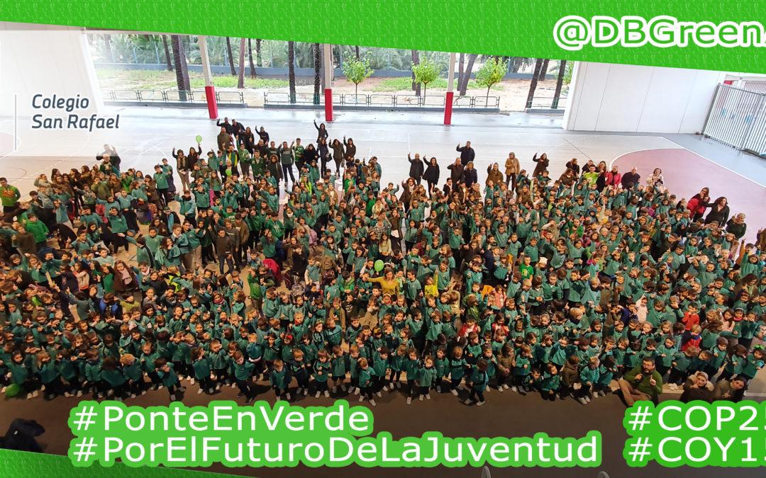 """""""Ponte en verde… por el futuro de la juventud"""""""