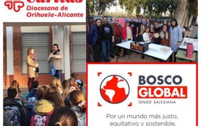 En 2020: De Cáritas a Bosco Global… «y tiro porque me toca»